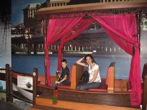 Alex y Arantxa en Malasia
